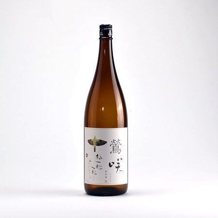 鶯咲(おうさき)純米酒 (宮寒梅)