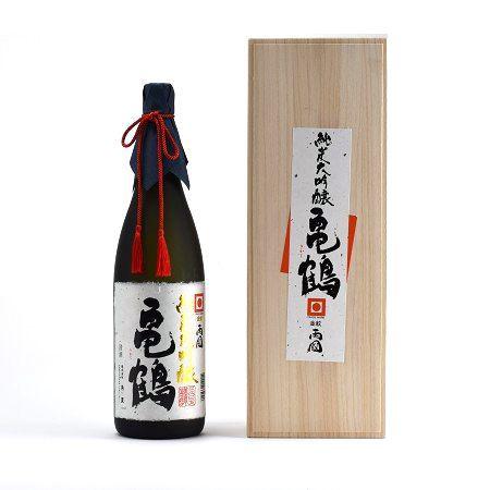 金紋両國 純米大吟醸 亀鶴