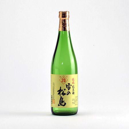 雪の松島 醸魂 純米酒 超辛+20