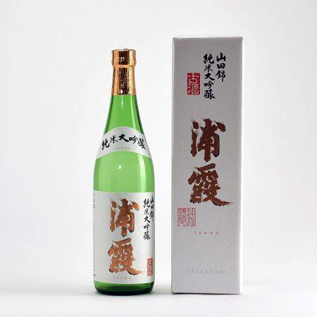 浦霞 山田錦 純米大吟醸 古酒
