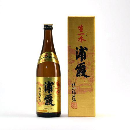 浦霞 生一本 特別純米酒